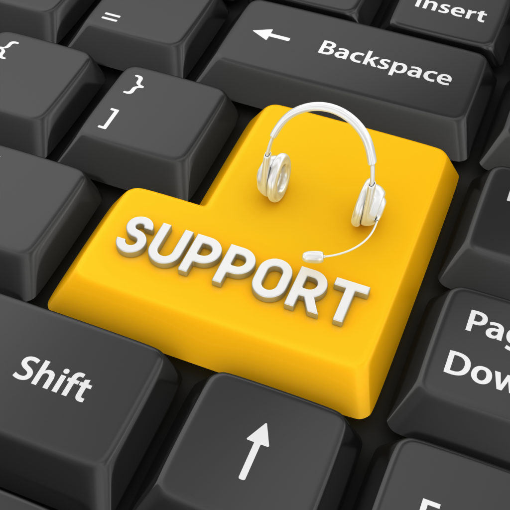 managed service provider support key